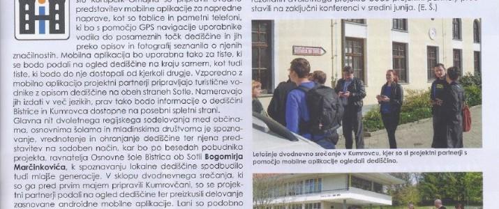 Pisali so o nas v časopisu OKO