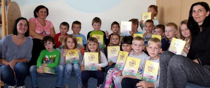 Prvošolci postali člani šolske knjižnice